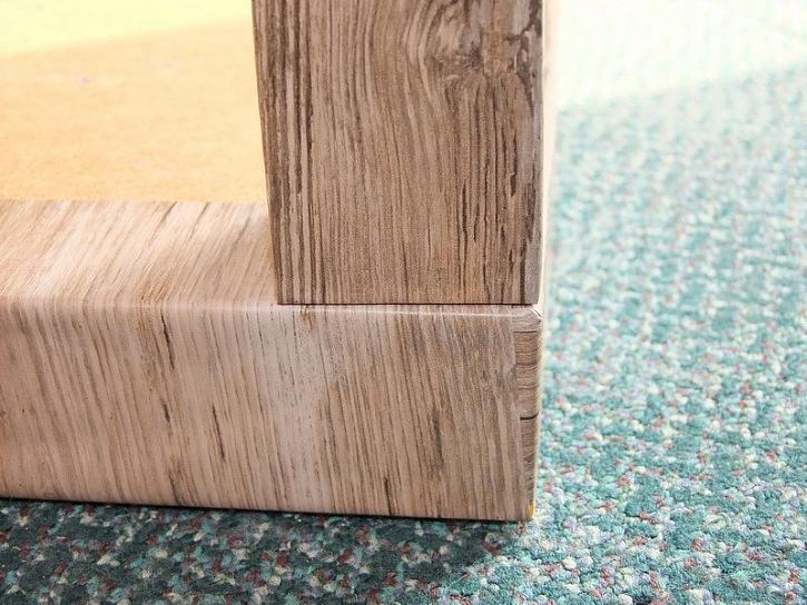 Renovace stolku s samolepicí fólii dc-fix