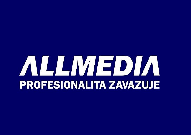 Logo ALLMEDIA spol. s r.o. - organizační složka