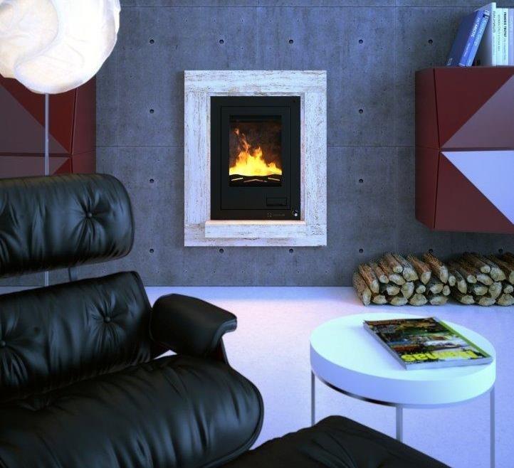 Aquaflam s teplovodním výměníkem zaujme moderní technologií a líbivým designem.
