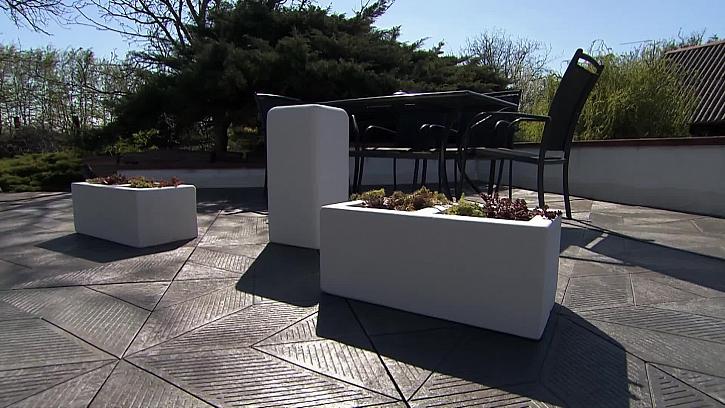 Renovace staré terasy pomocí dlaždic Transform