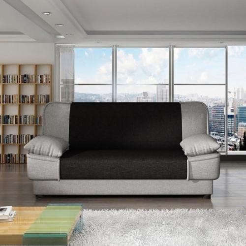 Pohovka NIKÉ černá, IDEA nábytek