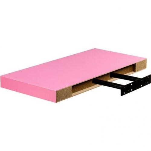 STILISTA VOLATO 31054 Nástěnná police  - růžová 70 cm