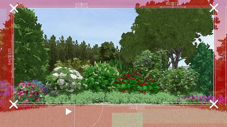Karel si nechal vypracovat návrh nové zahrady od zahradní designerky firmy Zelené kolo a opravdu se povedl