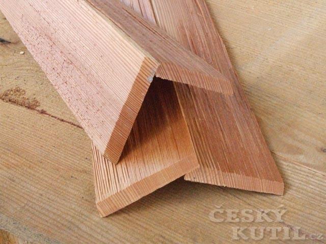 Šindelová střešní krytina 1 – výroba a použití