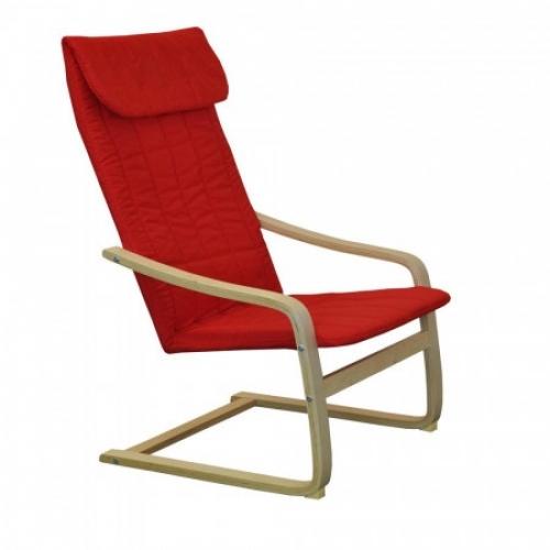 Křeslo LISA červené K51, IDEA nábytek