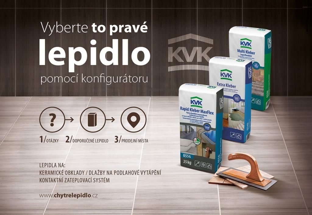 KVK - Lepidla na každou stavbu