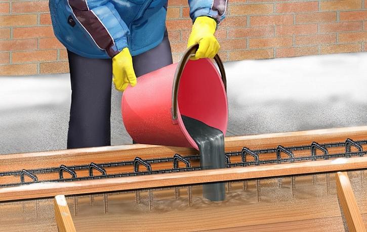 Betonujte i za nízkých teplot, s přísadami Sika stavební sezóna nekončí!