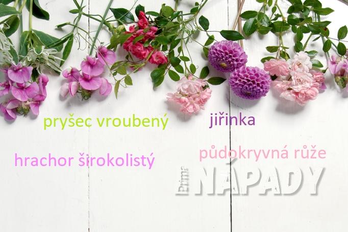 Jaké květiny použít