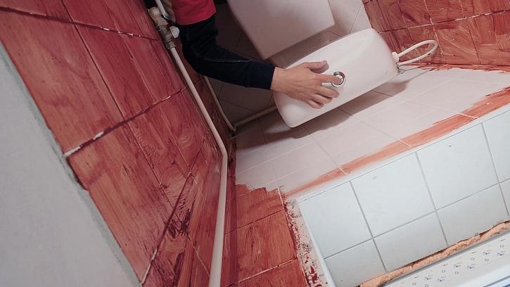 Kompletní rekonstrukce toalety