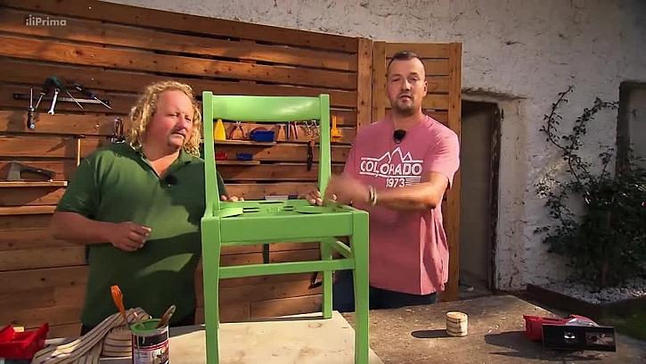 Oprava dosluhující židle