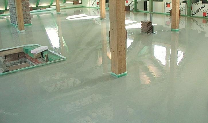 Rovné podlahy s milimetrovou přesností