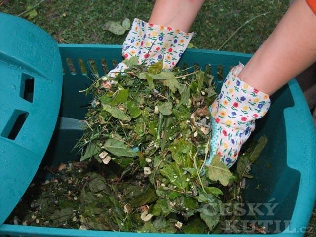 S úklidem zahrady pomůže drtič zahradního odpadu