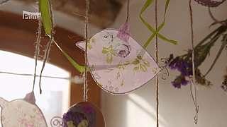 Vyrobte si veselého ptáčku z drátu a papíru