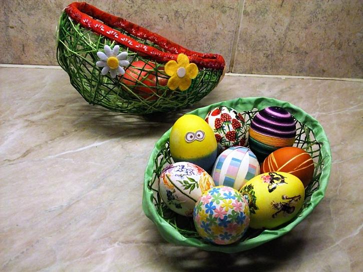 zdobení vajíček