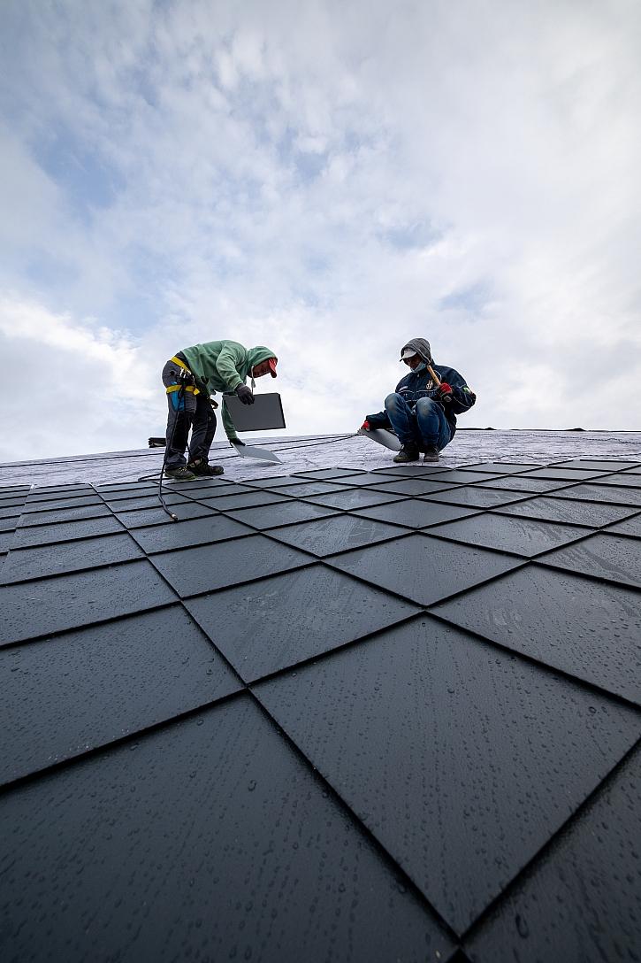 Pokládka střechy4