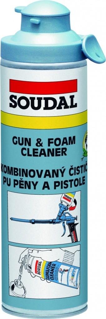Polyuretanové pěny pro pistole s patentem Click & Fix