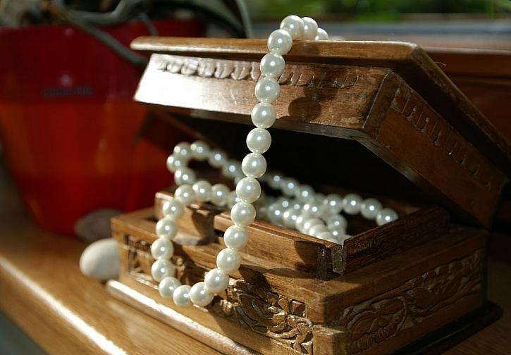 Mějte své šperky v bezpečí!