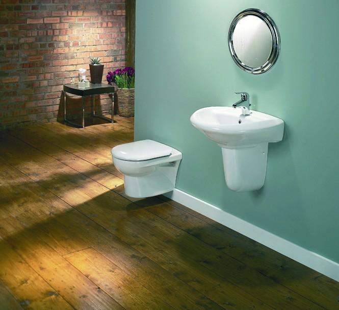 Seriál o hmoždinkách - Zavěšení bidetu a závěsné toalety