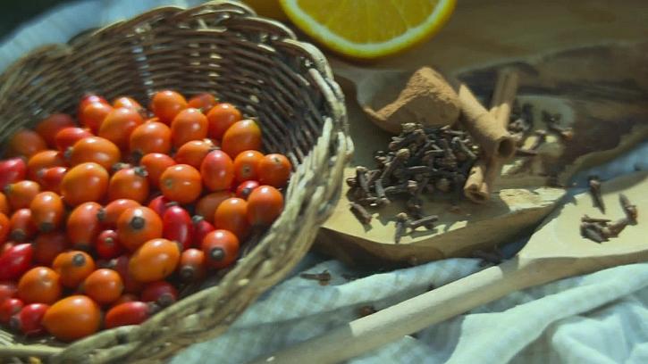 Suroviny na šípkovou marmeládu