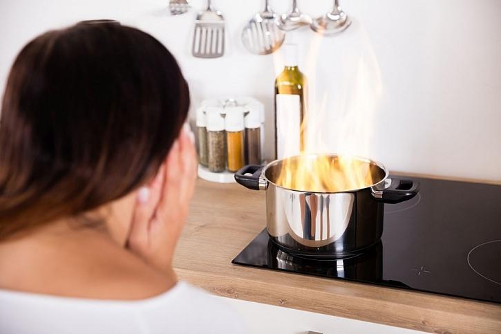 Hořící pokrmy