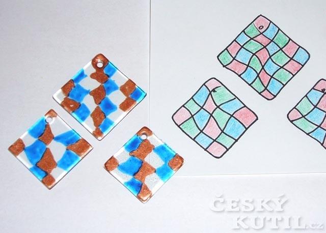 Použití vypalovacích barev na porcelán a jiné povrchy