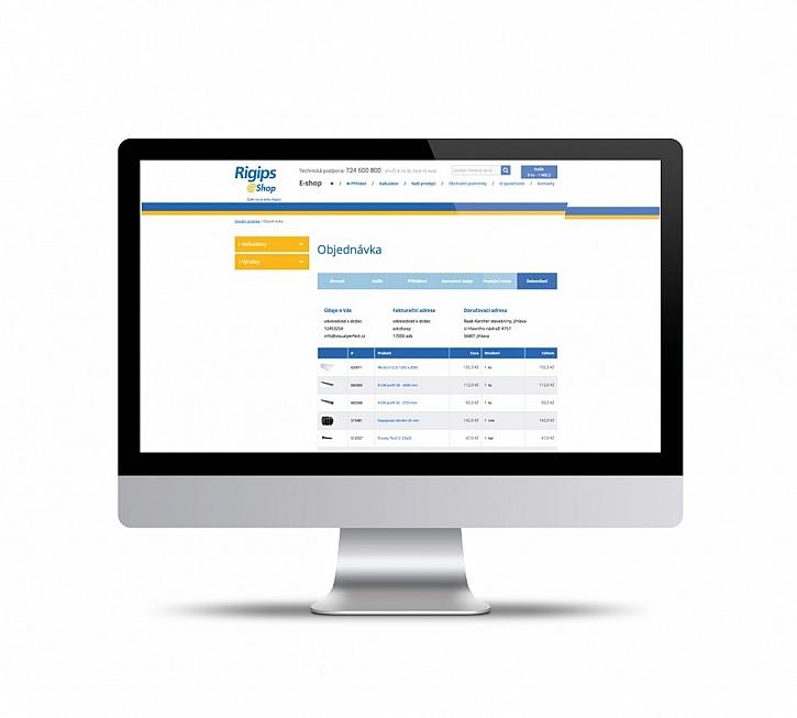 4. Vytisknete si kompletní objednávku s přehledem materiálu, kterou systém současně zasílá na vybranou prodejnu.