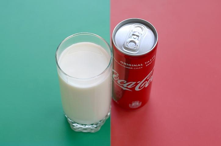 Mléko a Cola