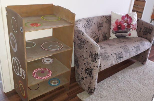 Renovaci staré skříňky zvládnete doma (Zdroj: Silva Pokorná)