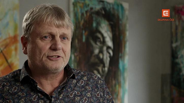 Pavel Žatečka vypráví o malířských dvojčatech, malířství i cechu, ve kterém je výkonným ředitelem.