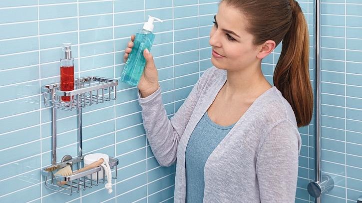 Novinka – koupelnové doplňky bez vrtání