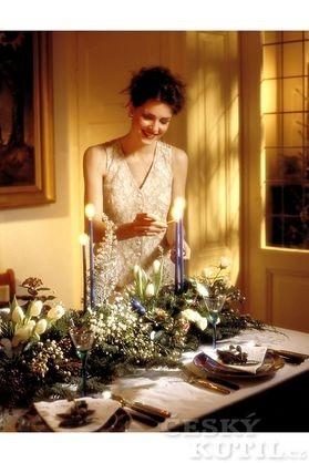 Stůl pro Štědrý večer