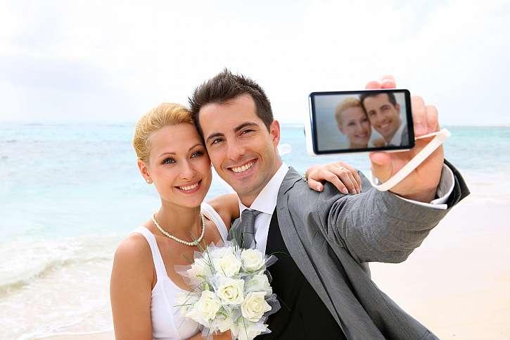 Novomanželské selfie