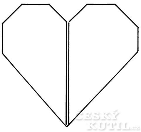 Valentýn – jak poskládat srdce z ubrousku