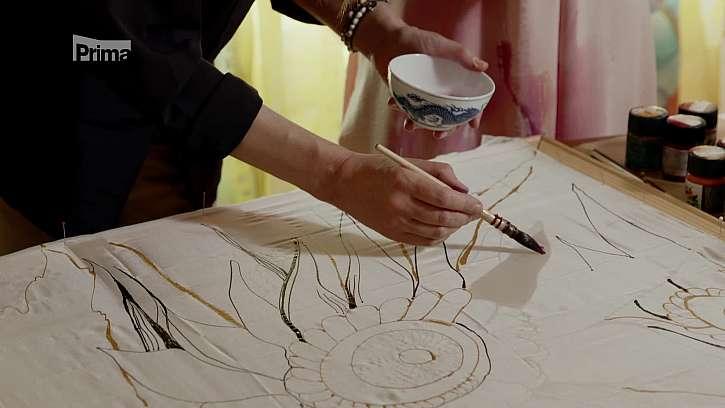 Malování štětcem