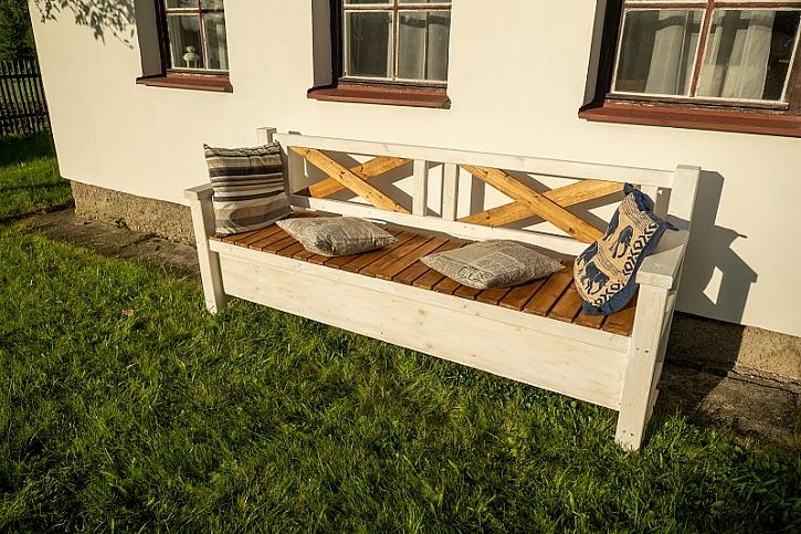 Jak si vyrobit parádní lavici poradí Pepa Libický