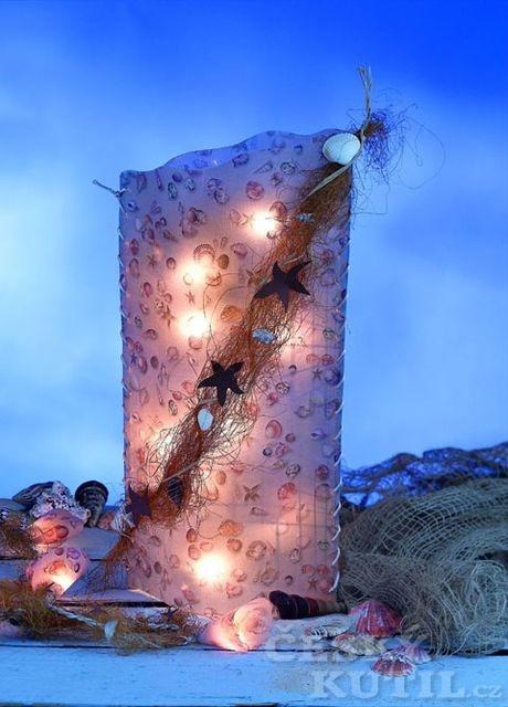 Výroba náladové lampy