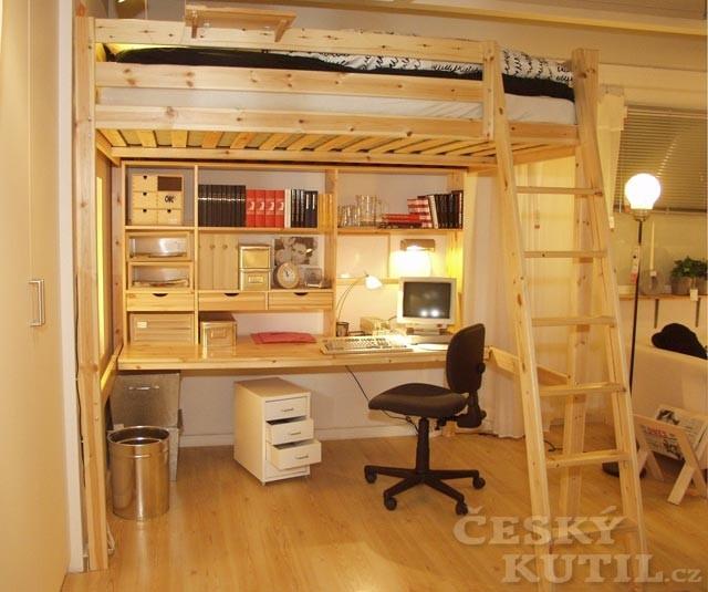 Umístění pracoviště v bytě