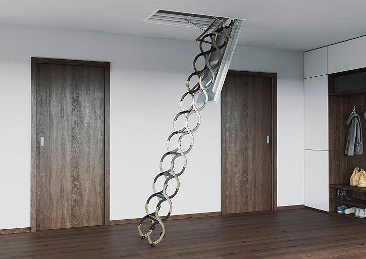 Jak nainstalovat schody na půdu? (Zdroj: JAP FUTURE)