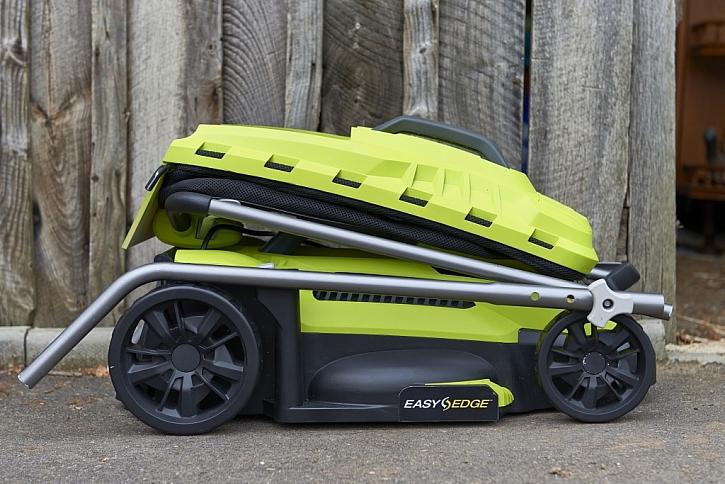 NOVÁ hybridní sekačka na trávu RYOBI 36V Fusion