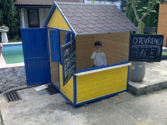 Domeček na zahradu pro děti