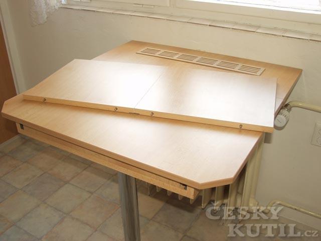 Jak vyrobit výsuvný stůl? - 3. díl.