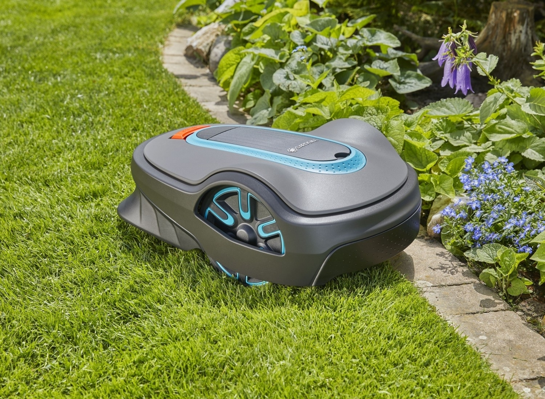 Svěřte sekání trávy robotické sekačce