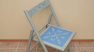 Renovace židle za pár kaček i za pár chvil