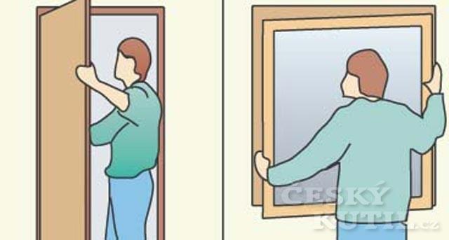 Okna a dveře s novým kabátem