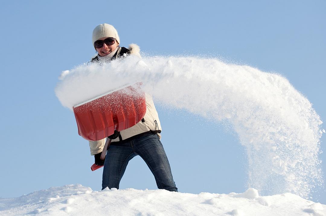 Sníh a jeho odklízení