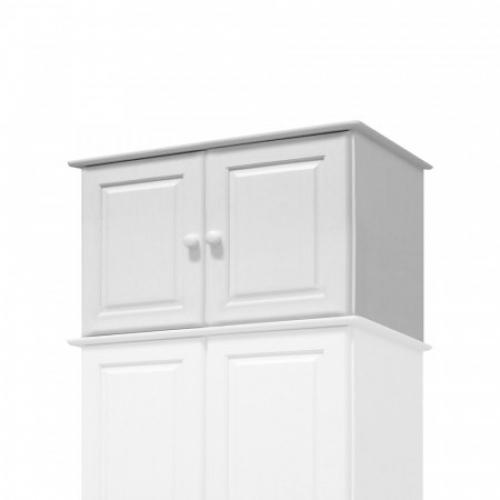 Nástavec 2dveřový 8861B bílý lak, IDEA nábytek