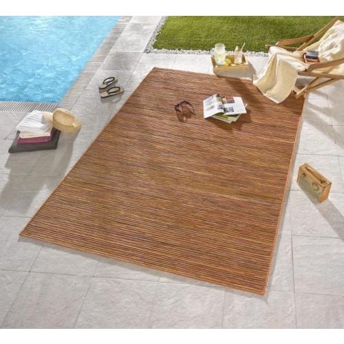 Bougari - Hanse Home koberce Venkovní kusový koberec Lotus Terra Orange Meliert - 200x290 cm Oranžová