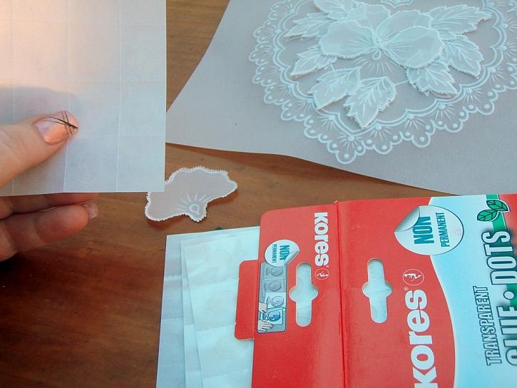 Postup na 3D přání z pergamana