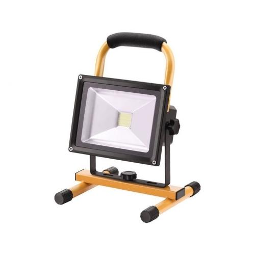EXTOL LIGHT LED reflektor nabíjecí s podstavcem, 1400 lm