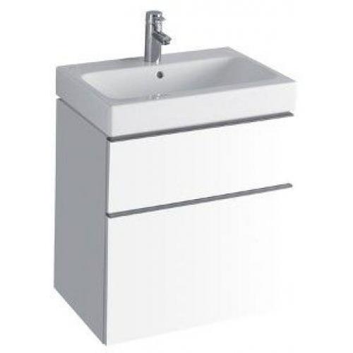 KERAMAG Icon skříňka pod umyvadlo, závěsná 59,5 x 62 x 47,7 cm bílá lesklá